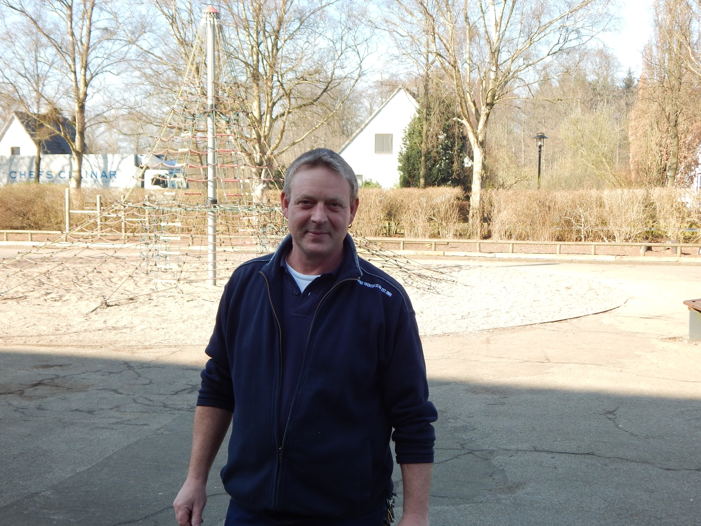 Hausmeister Matthias Bäsel